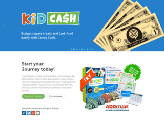 kidcash.webflow.com screenshot