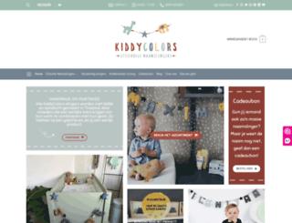 kiddycolors.com screenshot