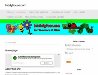 kiddyhouse.com screenshot