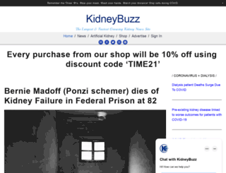 kidneybuzz.com screenshot