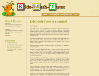 kids-math-tutor.com screenshot