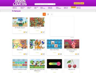 kids.jogosloucos.com.br screenshot