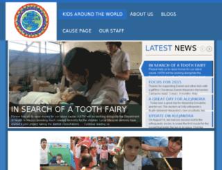 kidsaroundtheworld.org.uk screenshot
