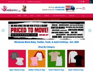 kidsblanks.com screenshot