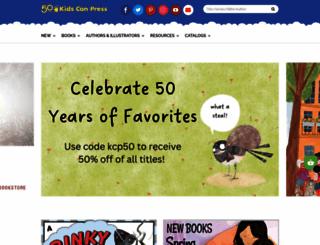 kidscanpress.com screenshot