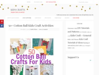 kidscrafts.craftgossip.com screenshot