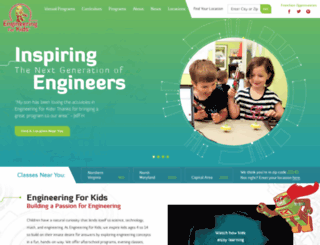 kidsengineering.com screenshot