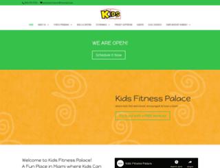 kidsfitnessmiami.com screenshot