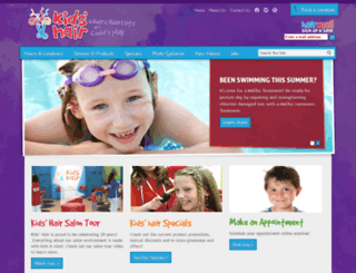 kidshairinc.com screenshot