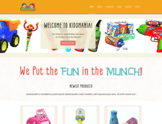 kidsmania.us screenshot