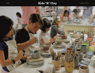 kidsnclay.com screenshot
