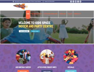 kidspace.com.au screenshot