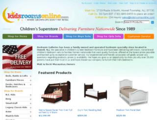 kidsroomsonline.com screenshot