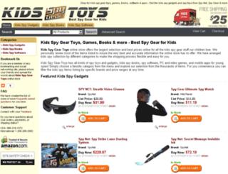 kidsspygeartoys.com screenshot