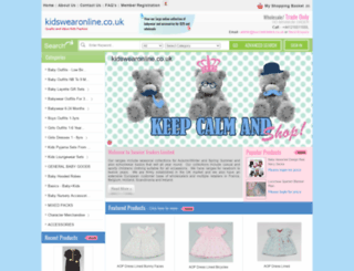 kidswearonline.co.uk screenshot