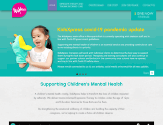 kidsxpress.org.au screenshot