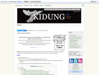 kidung.co screenshot