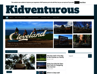 kidventurous.com screenshot