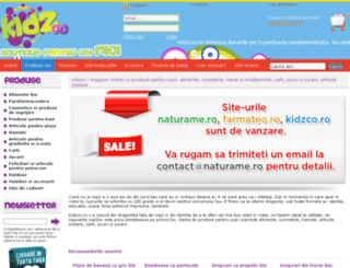kidzco.ro screenshot