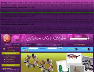 kidzwear.linggos.com screenshot