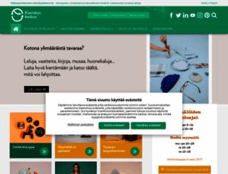 kierratyskeskus.fi screenshot