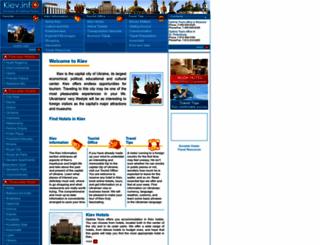 kiev.info screenshot