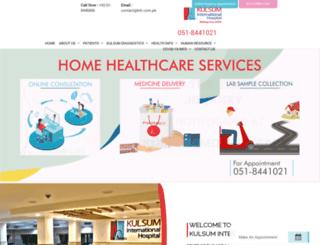 kih.com.pk screenshot