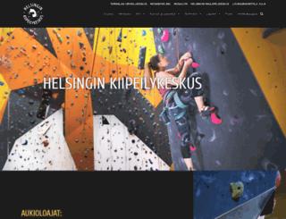 kiipeilykeskus.com screenshot