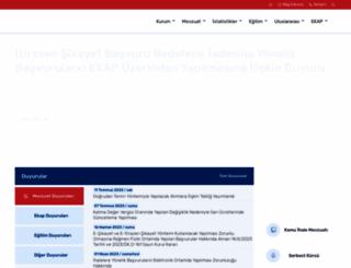 kik.gov.tr screenshot