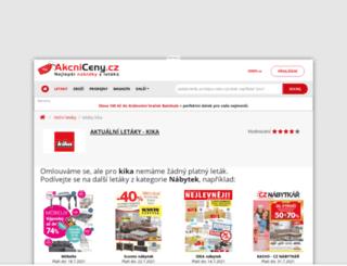 kika.akcniceny.cz screenshot