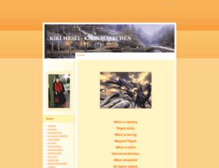 kiki-mese.eoldal.hu screenshot