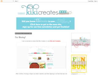 kikicreates.blogspot.com screenshot