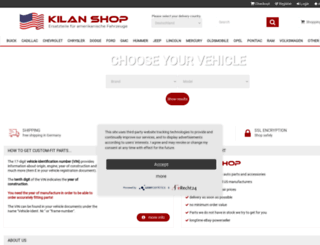kilan-shop.de screenshot