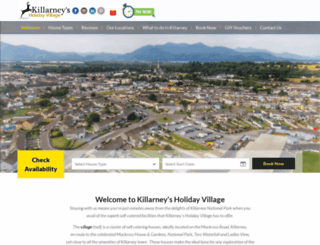 killarneysholidayvillage.com screenshot