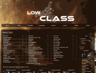 killboard.low-class.com screenshot