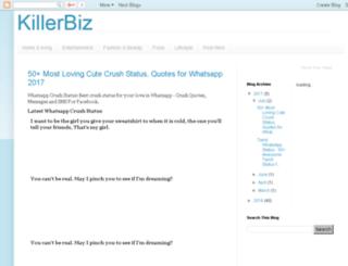 killerbiz.blogspot.com screenshot