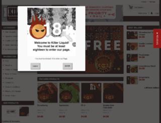 killerliquid.com screenshot