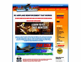 killerplanes.com screenshot