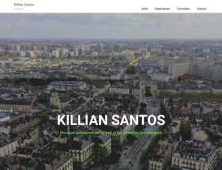 killian-santos.com screenshot