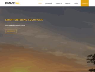 kimans.com screenshot