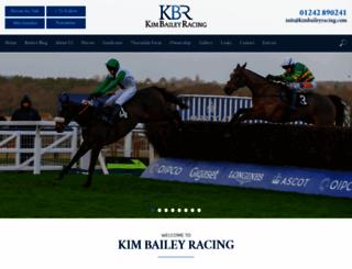 kimbaileyracing.com screenshot