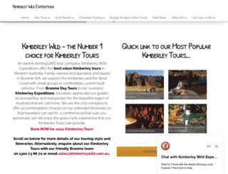kimberleywild.com.au screenshot