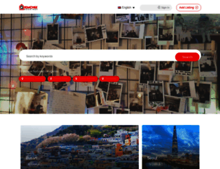 kimcheeguesthouse.com screenshot