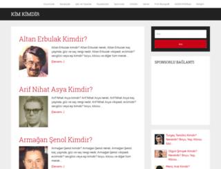 kimdirki.com screenshot