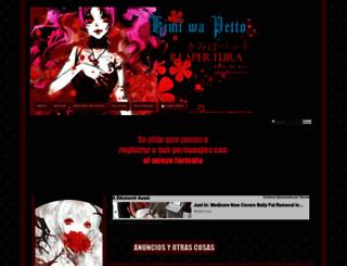 kimi-wa-pet.foroactivo.mx screenshot