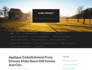 kimlippert.wordpress.com screenshot