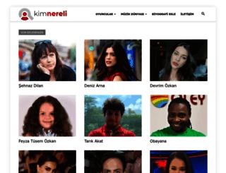 kimnereli.net screenshot