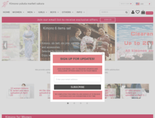 kimono-yukata-market.com screenshot