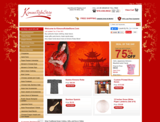 kimonorobestore.com screenshot