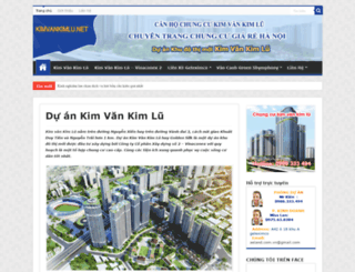 kimvankimlu.net screenshot